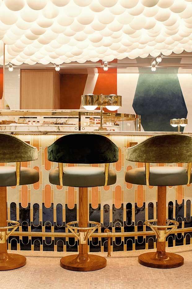 Materiais artesanais invadem a decoração da nova loja da L'Occitane en Provence em Paris (Foto: Divulgação)