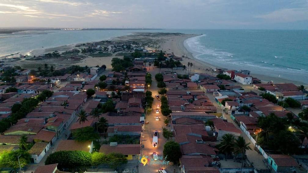 Galinhos é um dos municípios que não registra mortes por Covid-19 — Foto: Prefeitura de Galinhos/Reprodução