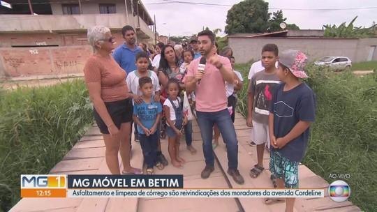 MG Móvel visita avenida Cordeline, em Betim
