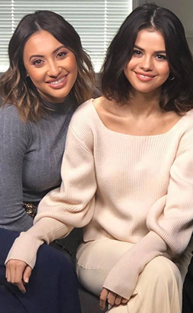 Francia Raisa e Selena Gomez (Foto: Instagram)
