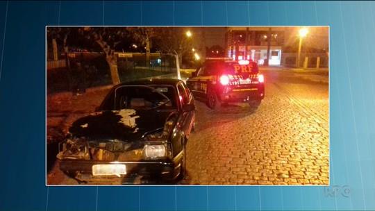 Adolescente que dirigia Monza do avô atropela e mata três pedestres em Campo Largo, diz PRF