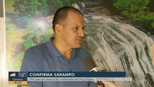 Caso de sarampo é confirmado em Poço Fundo, MG
