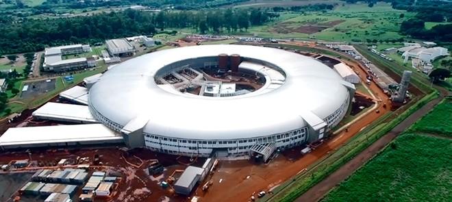 Primeira fase da construção acelerador de partículas foi concluída  (Foto: Divulgação)