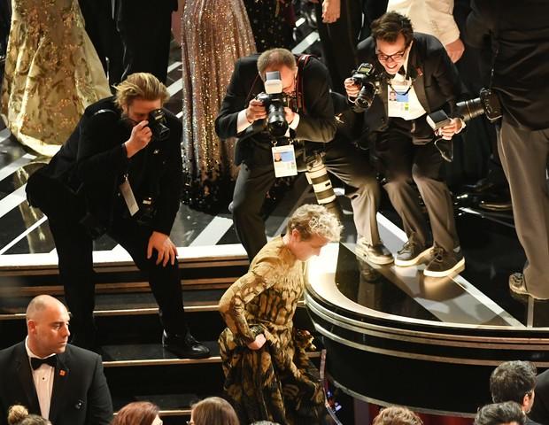 Frances McDormand venceu na categoria de Melhor Atriz e fez importante discurso (Foto: getty images)