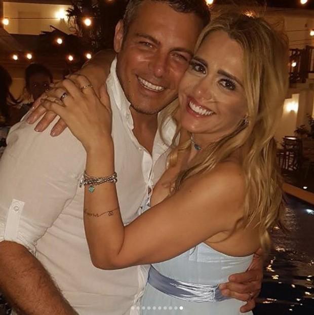 Luigi Baricelli e a mulher, Andréia Baricelli (Foto: Reprodução/Instagram)