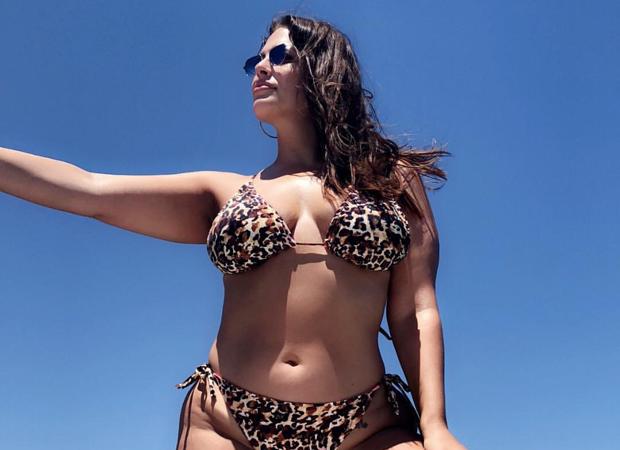 Ashley Graham: férias na Grécia (Foto: Reprodução Instagram)