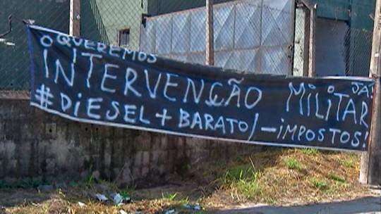 Serviços essenciais seguem afetados no Alto Tietê por causa de greve de caminhoneiros