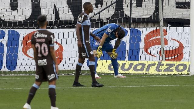 Cássio em Corinthians x Flamengo