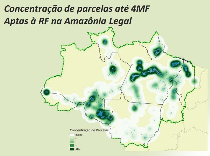 mapa-reforma-fundiária (Foto: Divulgação/Mapa)