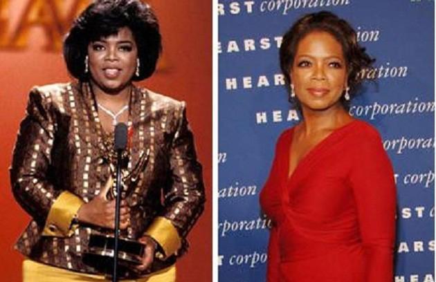 Ex-obesa, Oprah Winfrey conseguiu chegar aos 72kg no início dos anos 2000 (Foto: Divulgação)