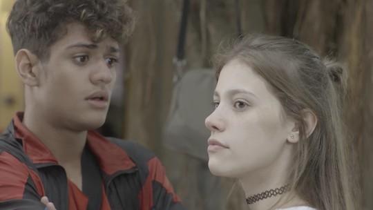 Cleber e Anjinha se estranham e namoro fica ameaçado: 'Eu vou desistir'