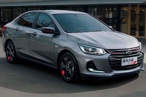 Chevrolet Prisma foi apresentado na China como Onix sedã (Foto: Divulgação)