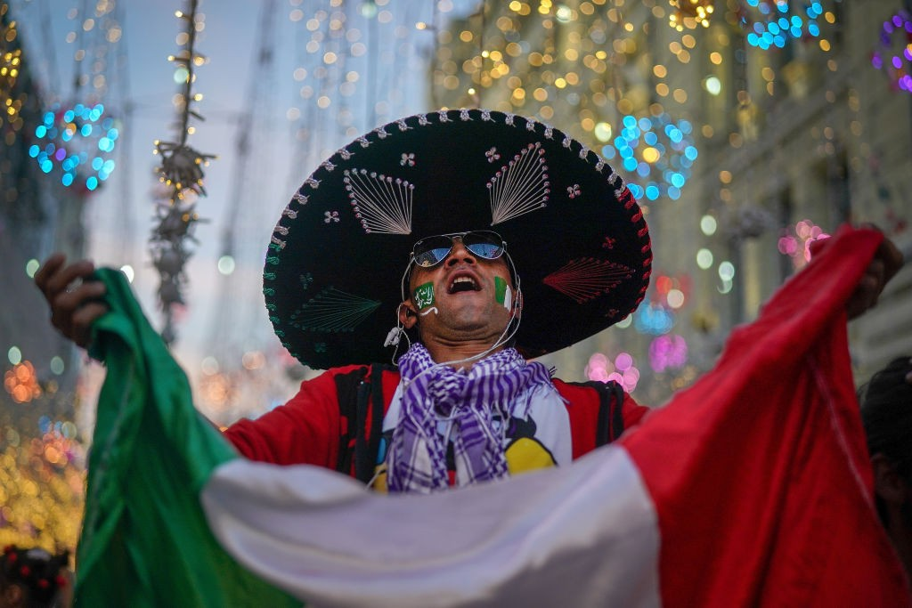 Torcedor do México na Copa do Mundo da Rússia de 2018 (Foto: Christopher Furlong/Getty Images)