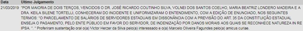 TJ-RS reconhece que parcelamento de salários justifica pagamento de indenização a servidores estaduais  - Noticias