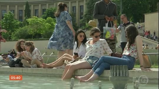 Cidades da Europa podem registrar recorde de altas temperaturas no verão