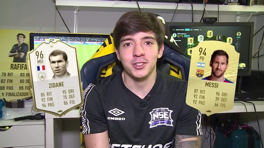 Rafifa escolhe o melhor jogador virtual do FIFA 20 no Rei da Mesa