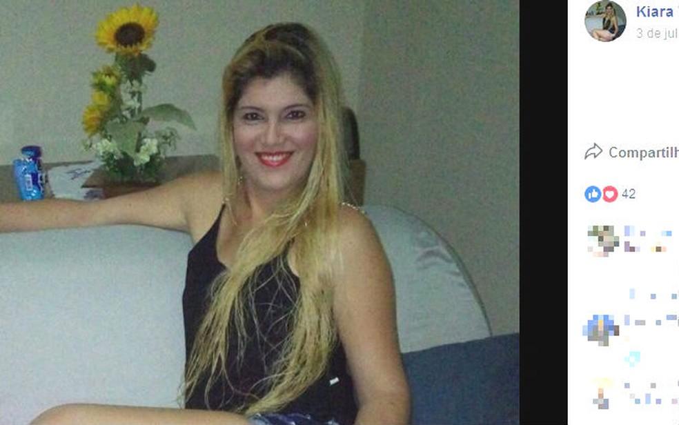 Kiara Vellano Dasmaceno prestou denúncia na delegacia da Barra (Foto: Reprodução / Facebook)