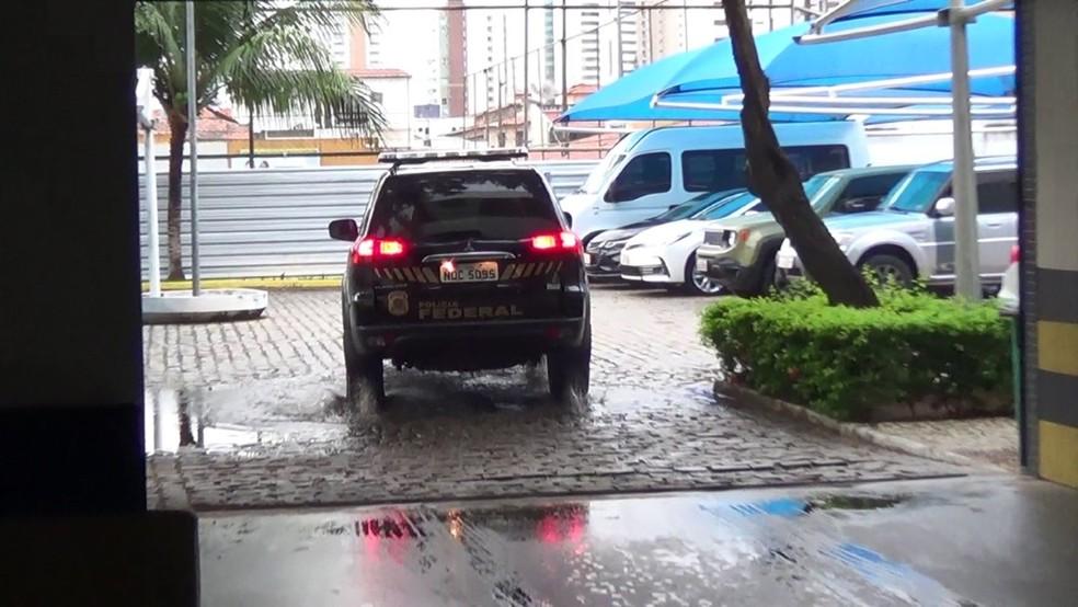 Operação da PF foi deflagrada no início da manhã desta segunda-feira (17)  — Foto: PF-RN/Divulgação