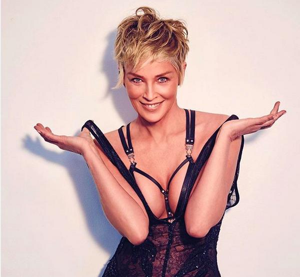A atriz Sharon Stone (Foto: Instagram)