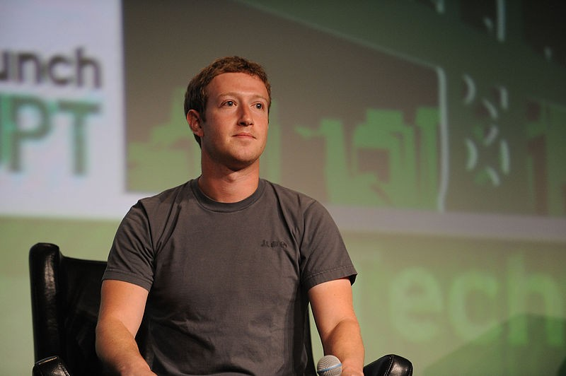 Mark Zuckerberg, o criador do Facebook (Foto: Wikimedia Commons)