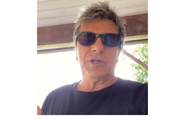 Evandro Mesquita revelou à Rádio Bandeirantes que testou positivo para o Covid-19 em março: 'Fiquei apavorado' (Foto: Reprodução)