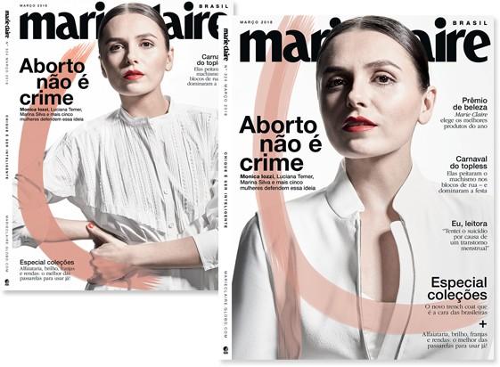 Capa Marie Claire Aborto (Foto:  )