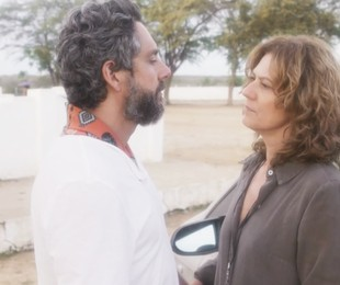 Alexandre Nero e Patricia Pillar no último capítulo de 'Onde nascem os fortes' | TV Globo