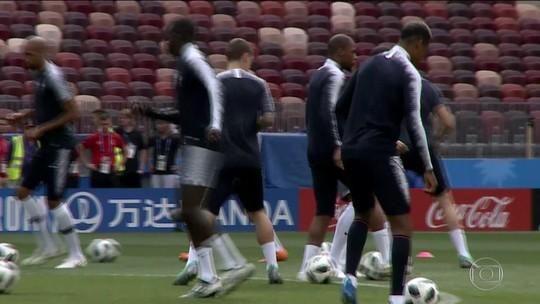 Classificada, França pode descansar alguns jogadores contra Dinamarca