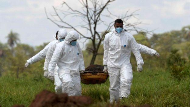 Brasil é o 4º colocado no ranking de países onde mais pessoas morrem em acidentes de trabalho, atrás da China, Índia e Indonésia. (Foto: Reuters via BBC)