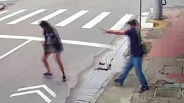 RJ: homem mata  moradora de rua que pediu R$ 1 (Reprodução)