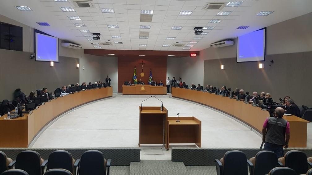 Pleno aprovou criação de novas vagas — Foto: Tiago Terciotty/TVCA
