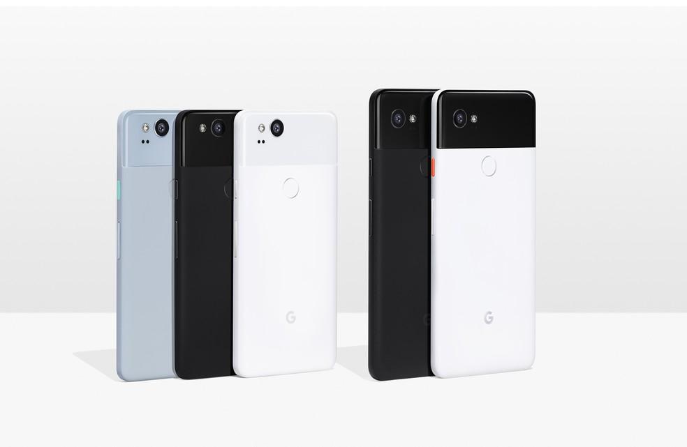 Google Pixel 2 e Google Pixel 2 XL  (Foto: Divulgação/Google)