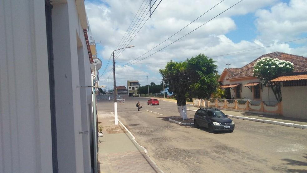 Crime aconteceu em Ceará-Mirim, na Grande Natal (Foto: Marksuel Figueredo/Inter TV Cabugi)