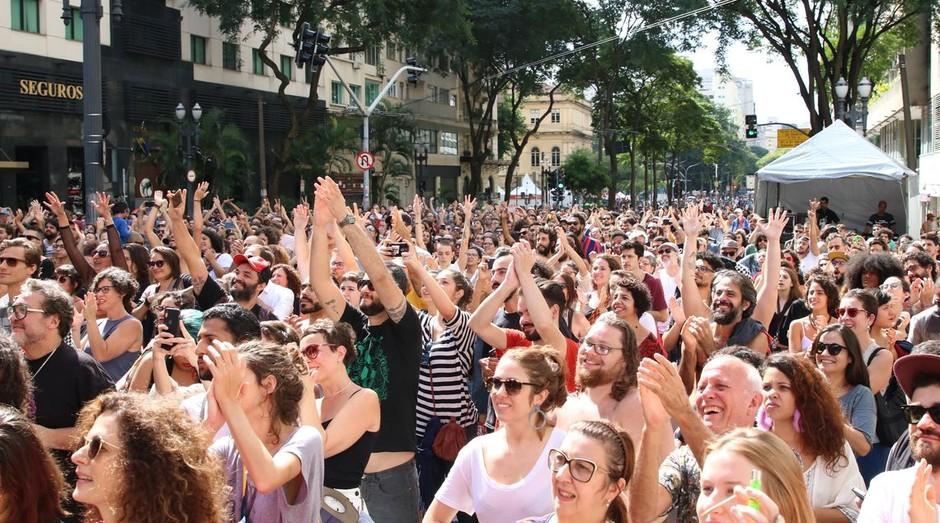 Virada Cultural em São Paulo (Foto: Rovena Rosa/Agência Brasil)