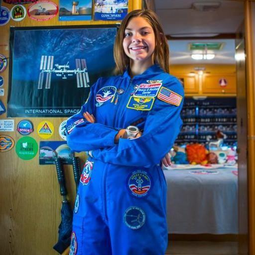 Alyssa quer ser a primeira pessoa a pisar no planeta vermelho (Foto: Wikimedia/NASABlueberry )