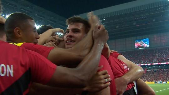 Veja o gol e os melhores momentos de Athletico 1x0 Inter, pela final da Copa do Brasil