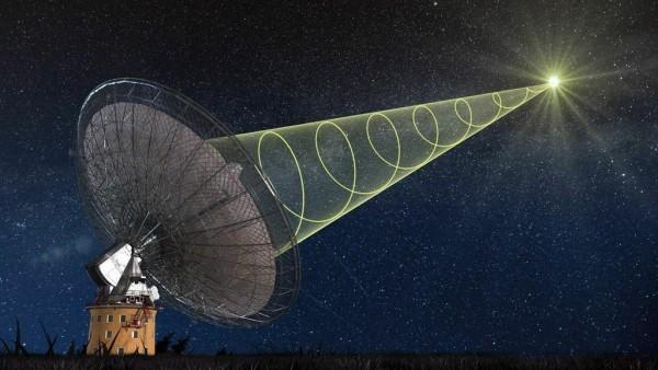 Astrônomos detectam ondas de rádio misteriosas vindas do espaço