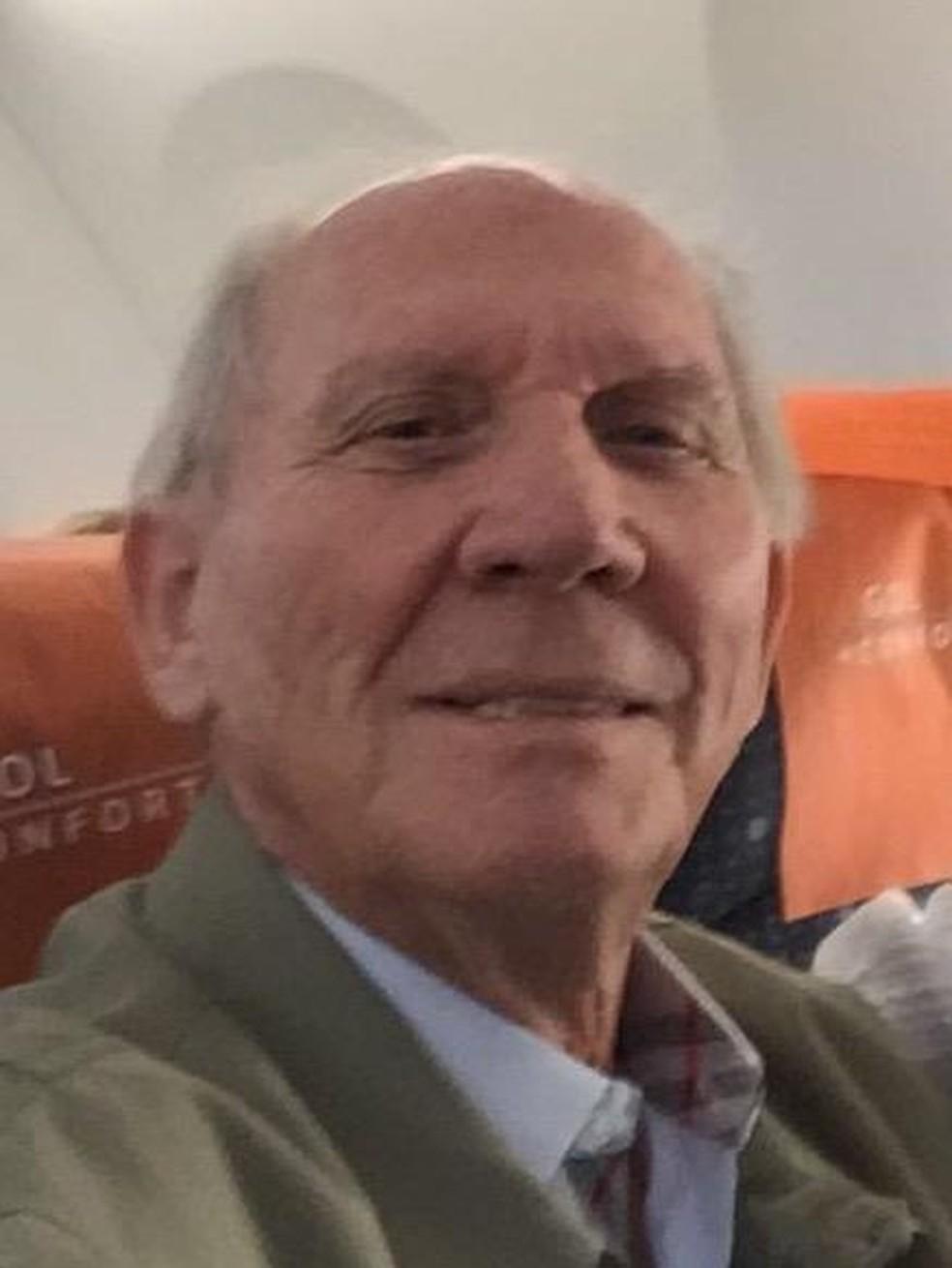 Leonildo Sassi, de 74 anos, foi o primeiro paciente com coronavírus que morreu na Bahia — Foto: Arquivo Pessoal