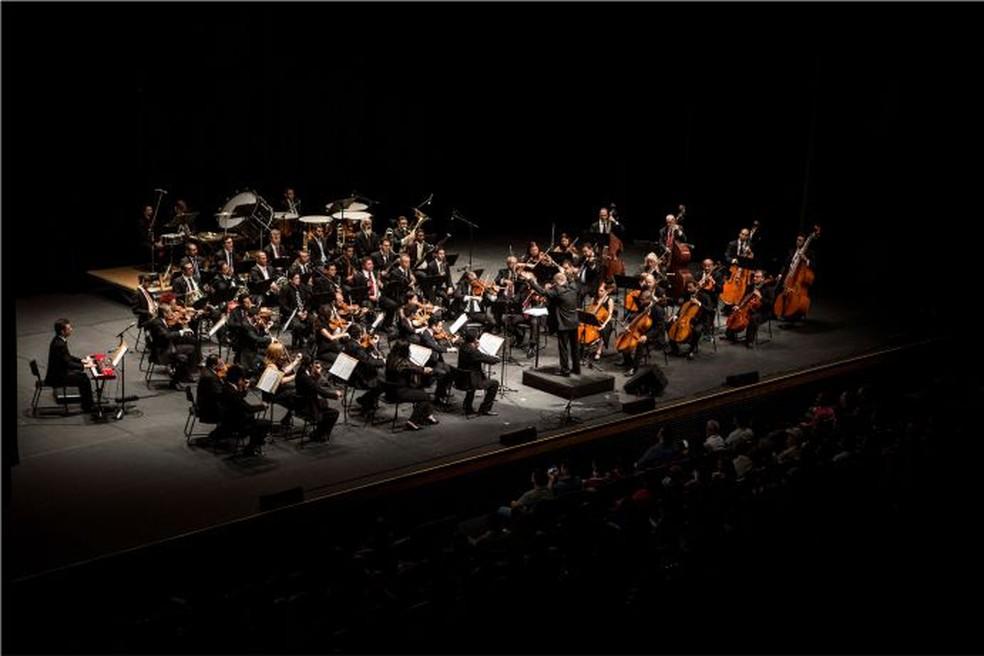 Orquestra Sinfônica do Rio Grande do Norte encerra temporada 2018 com show no Natal em Natal — Foto: Divulgação
