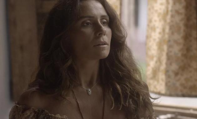Luzia marcará programa com Ícaro nos próximos capítulos (TV Globo)