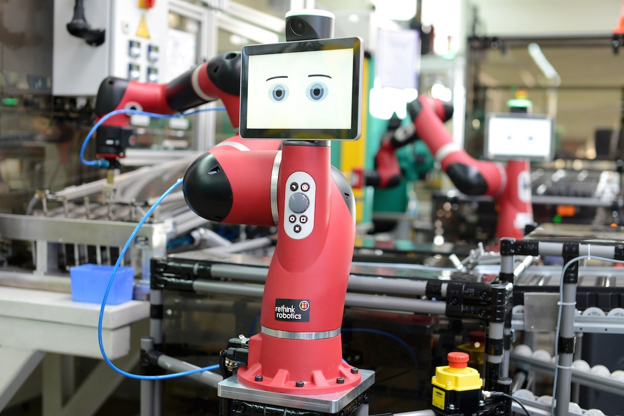 Sawyer, da Rethink Robotics (Foto: Rethink Robotics)