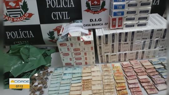 DIG de Casa Branca, SP, prende comerciante com 14,2 mil cigarros contrabandeados