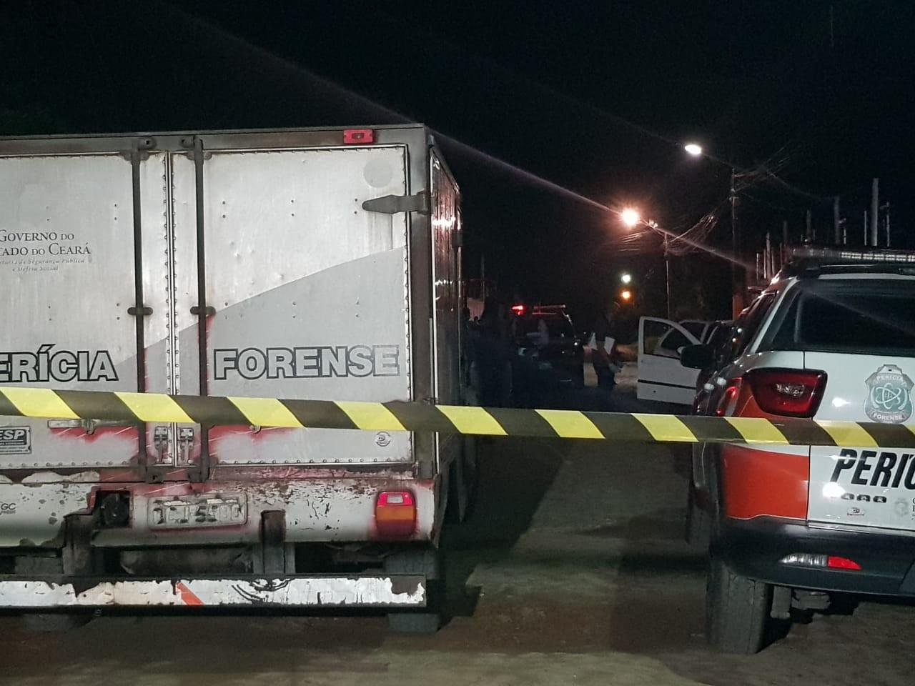Motorista de aplicativo é parado por outro carro e morto a tiros na Grande Fortaleza