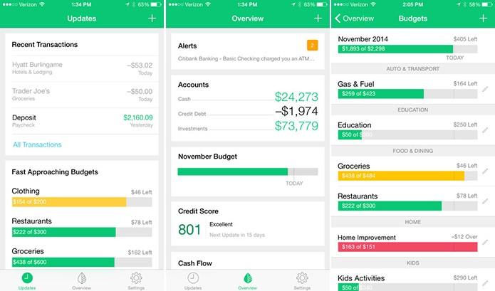 Mint é um aplicativo de finanças para Android, iOS e Windows Phone que ajuda usuário a se fiscalizar (Foto: Divulgação/App Store)