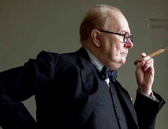 No papel de Churchill, Gary Oldman é o favorito ao Oscar de Melhor Ator (Foto: 20Th Century Fox/Photo12/Afp)
