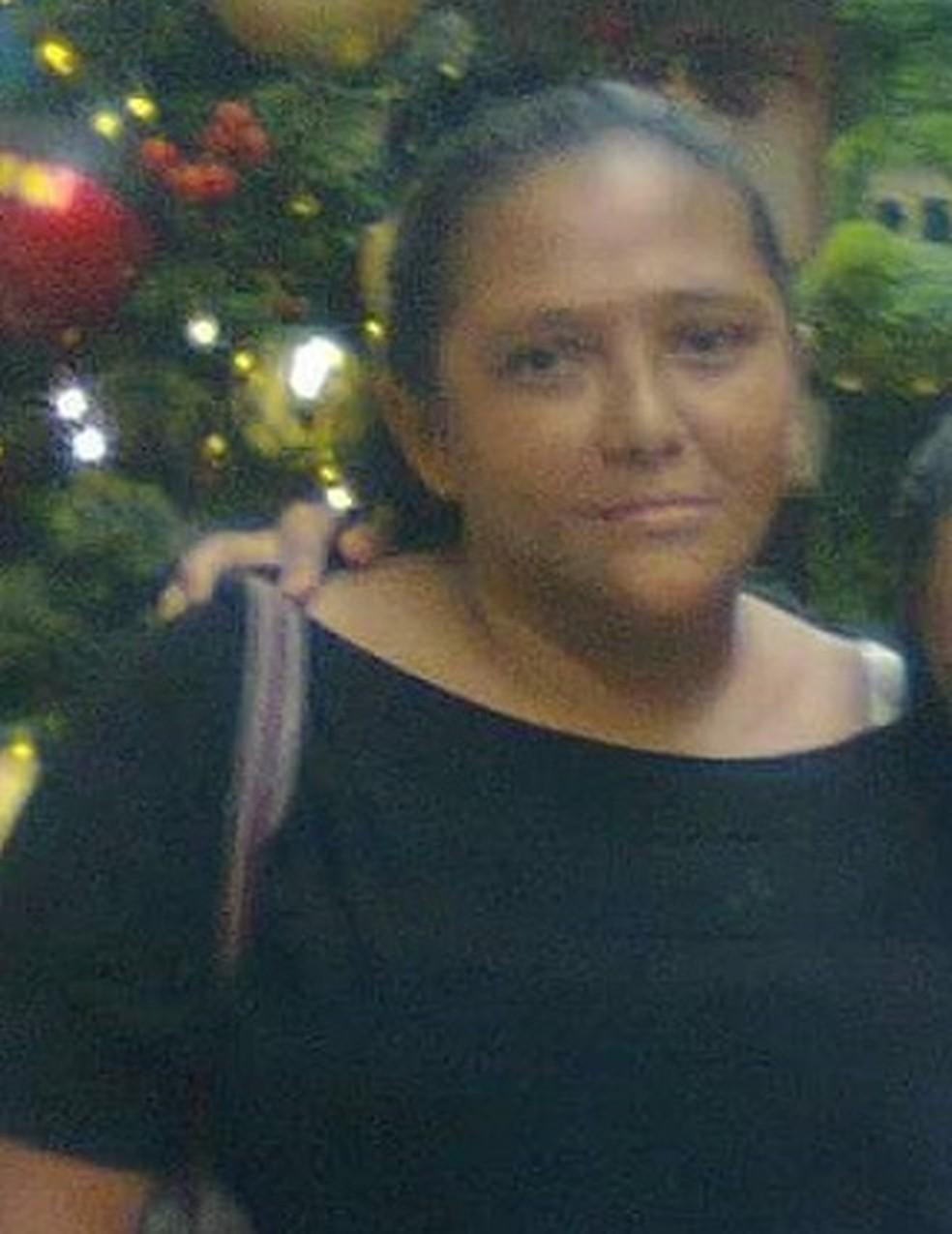 Sonia Oliveira tinha 55 anos  — Foto: Arquivo Pessoal