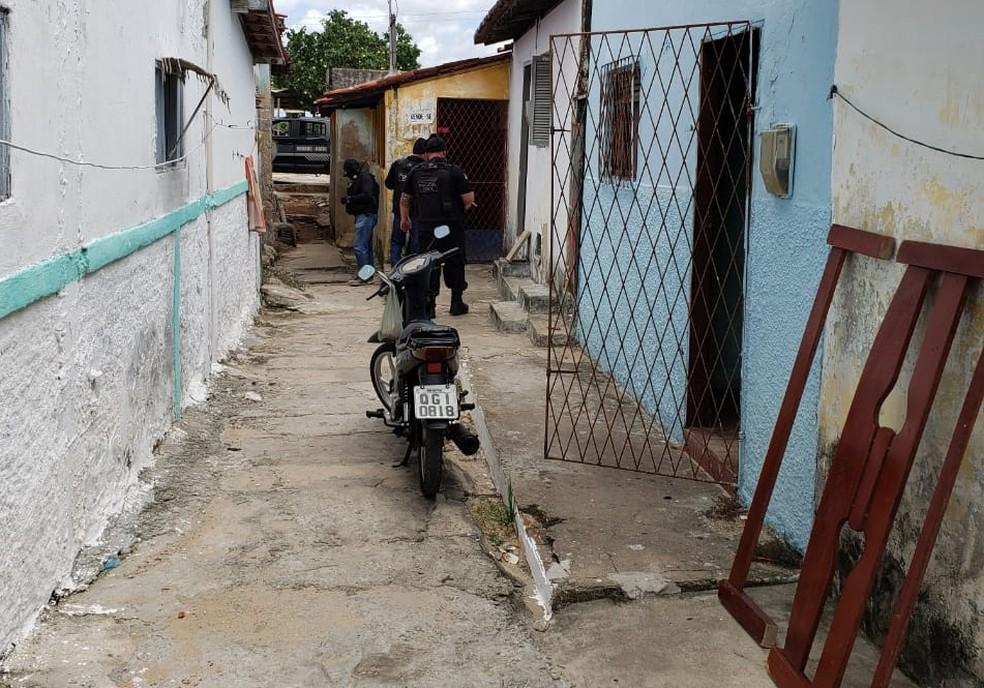 Ação aconteceu na manhã desta segunda-feira (9) no Paço da Pátria, na Zona Leste de Natal.  — Foto: Polícia Civil/Divulgação