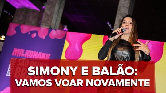 Simony compara Balão Mágico a Pelé e Neymar e planeja DVD com música nova no retorno do grupo