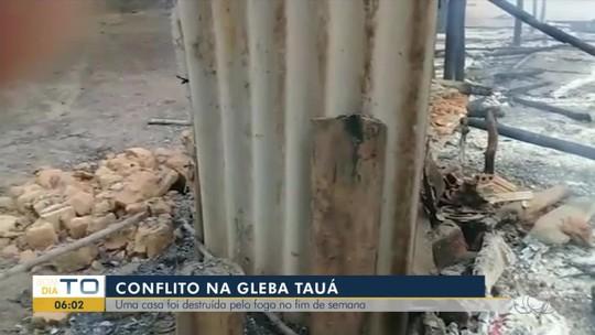 Trabalhadores rurais têm casa incendiada em área de conflito agrário