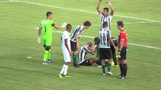 Alan Costa leva pancada no rosto e será reavaliado no Coritiba antes do jogo contra o Maringá